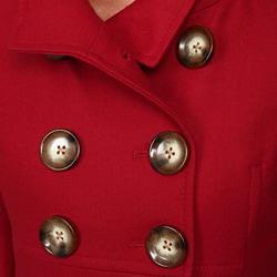 Anne Klein Women's Wool Blend Babydoll Coat