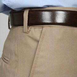 Geoffrey Beene Men's Flat Front Extender Waist Pants - Thumbnail 2