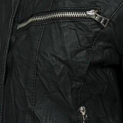 Collezione Women's Plus Size Faux Leather Jacket