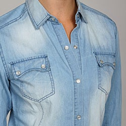 Ninety Women's Washed Denim Shirt - Thumbnail 2