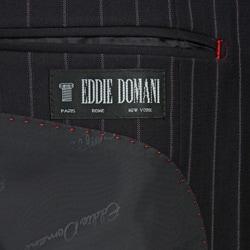 Eddie Domani Men's Pinstripe Suit