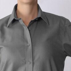 Bill Blass Women's Long-sleeve Collared Shirt - Thumbnail 2