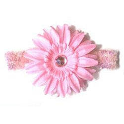 Sequin Rhinestone Flower Headband - Thumbnail 2