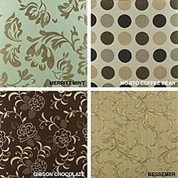 Saranac Teak Loveseat Cushion Set Made with Sunbrella Fabric - Thumbnail 2