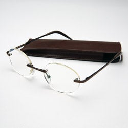 Rimless Oval Computer Glasses - Thumbnail 2