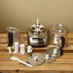 KitchenAid RKFP750NK Nickel 12-Cup Ultra Wide Mouth Food Processor (Refurbished) - Thumbnail 2