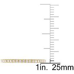 Miadora 18k Yellow Gold 1/3ct TDW Diamond Eternity Ring (G-H, SI1-SI2) - Thumbnail 2