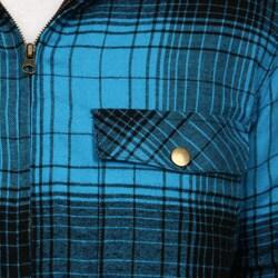 Burnside Men's Quilted Flannel Shirt Jacket