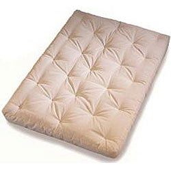 WWF Elite Spring Full Size Futon Mattress with Microfiber Cover - Thumbnail 2