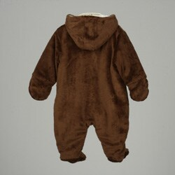 Disney Classic Pooh Infant Boy's Chenile Insulated Body Suit - Thumbnail 2