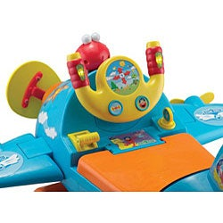 Sesame Street Fly with Elmo Activity Ride-on - Thumbnail 2