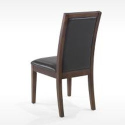 Leather Biscuit-back Dining Chairs (Set of 2) - Thumbnail 2