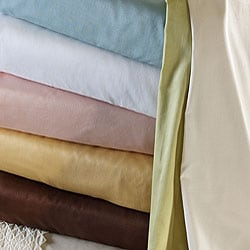 Lattice Embroidered Cotton 300 Thread Count Sheet Set - Thumbnail 2