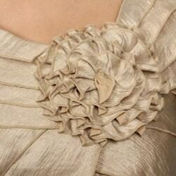 Jessica Howard Women's Shutter Pleat Sheath Dress