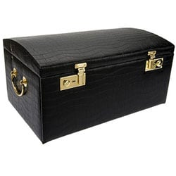 Morelle & Co Leather-domed 3-takeaway-case Jewelry Box - Thumbnail 2