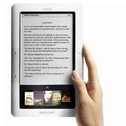 NOOK 3G + Wi-Fi by Barnes & Noble eBook Reader (Certified Pre-Owned - Refurbished) - Thumbnail 2