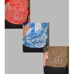Institute Liberal Women's 'Love Bolts' Long-sleeve Burnout Tee - Thumbnail 2
