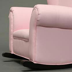 Child S Pink Fabric Rocking Chair Free Shipping Today