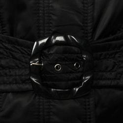 Jessica Simpson Belted Napkin Collar Puffer Jacket - Thumbnail 2