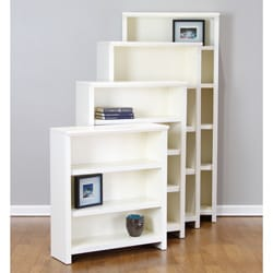 Shop Bailey 72 Inch Antique White Bookcase Free Shipping Today Overstock 5492828