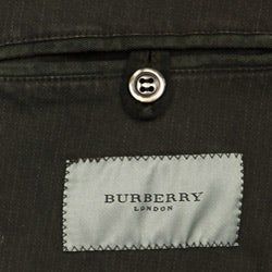 Burberry Men's Brushed Cotton Two-button Blazer