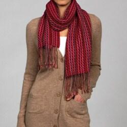 La Fiorentina Striped Wool Scarf - Thumbnail 2