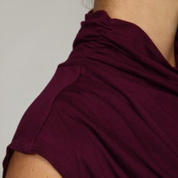Adrienne Vittadini Women's Sleeveless Turtleneck Top - Thumbnail 2