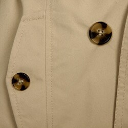 DKNY Women's Belted Rain Trench Coat