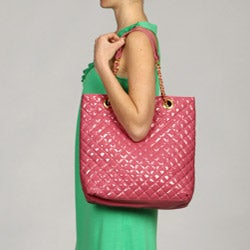 Del Cesca Quilted Tote - Thumbnail 2