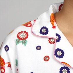 Leisureland Women's Japanese Print Pajamas Set - Thumbnail 2