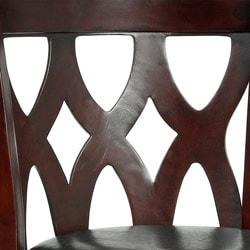 Valencia Cappuccino Triple Crossback 29-inch Barstool - Thumbnail 2