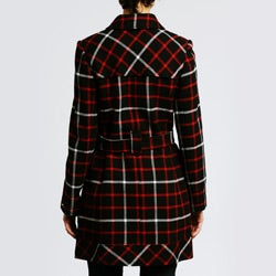 Tommy Hilfiger Women's Belted Wool Coat - Thumbnail 2