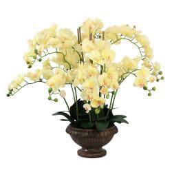 Laura Ashley Lifelike Orchid Arrangement - Thumbnail 2