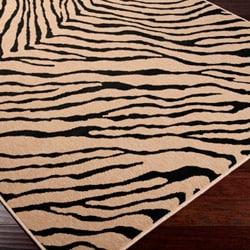 Picnic Brown/ Black Animal Rug (8'9 x 12'9)