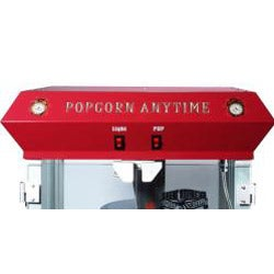 Popcorn Time Red 6-oz Antique Popcorn Machine and Cart - Thumbnail 2