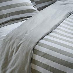 Club Stripe Full/ Queen-size Mini Duvet Cover Set - Thumbnail 2