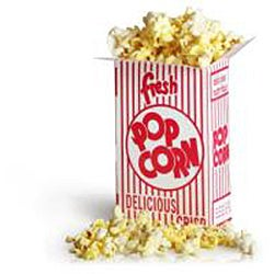 Movie Theater 1.25-oz Popcorn Boxes (Case of 100) - Thumbnail 2