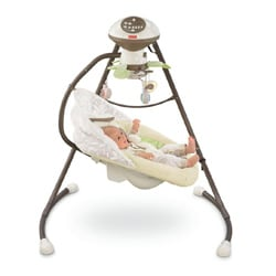 Fisher-Price My Little Snugabunny Cradle 'n Swing - Thumbnail 2