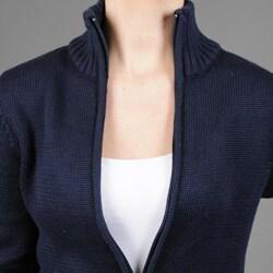 Pierre Women's Zipper Front Cardigan - Thumbnail 2