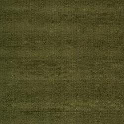 Hand-crafted Solid Dark Green Tone-On-Tone Bordered Ridges Wool Rug (6' x 9')