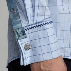 English Laundry Men's Wickersly Woven Shirt - Thumbnail 2