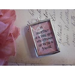 Anna & Rose 'Daughter' Necklace