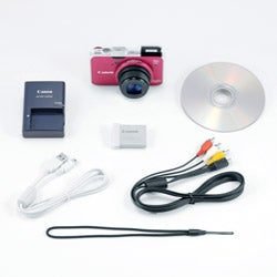 Canon PowerShot SX230 HS 12.1MP Red Digital Camera