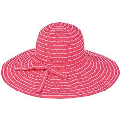 Grosgrain Ribbon Packable Crushable Travel Sun Hat (China) - Thumbnail 2