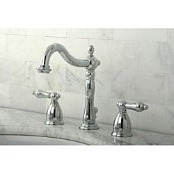 Chrome Widespread Bathroom Faucet - Thumbnail 2