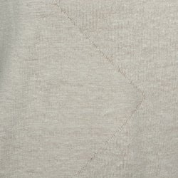 Oggi Moda Men's Linen-blend V-neck Pullover Sweater - Thumbnail 2