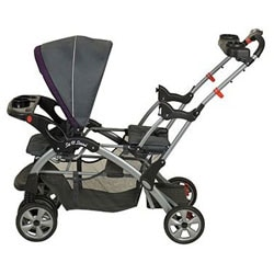Baby Trend Sit N Stand Double Stroller in Elixer - Thumbnail 2