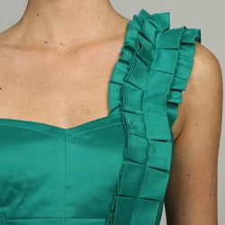 Jessica Simpson Women's Princess Ruffle Pencil Dress FINAL SALE - Thumbnail 2