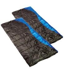 Ledge Idaho +20-degree Rectangular Sleeping Bags (Pack of 2) - Thumbnail 2