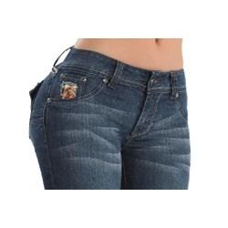 Yaiza Brazilian Style Stretch Push Up Jeans - Thumbnail 2